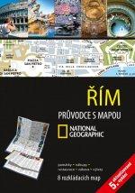 Řím Průvodce s mapou