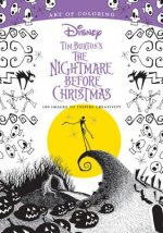 Art Of Coloring: Tim Burton's The Nightmare Before Christmas