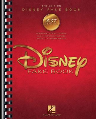 Disney Fake Book - 4th Edition