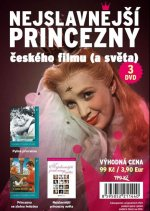 Nejslavnější princezny českého filmu (a světa) - DVD