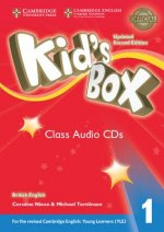 Kid's Box Level 1 Class Audio CDs (4) British English