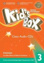Kid's Box Level 3 Class Audio CDs (3) British English