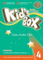Kid's Box Level 4 Class Audio CDs (3) British English