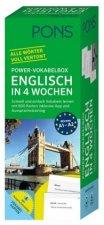 PONS Power-Vokabelbox Englisch in 4 Wochen