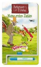 Schreib und wisch weg, Pettersson & Findus - Meine ersten Zahlen, m. Stift