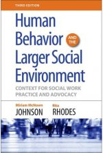 Human Behavior and the Larger Social Environment, Third Edition