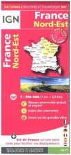 IFrance Nord-Est 2017. 1 : 350 000