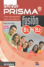 Nuevo prisma fusion b1 b2 libro del alumno + CD