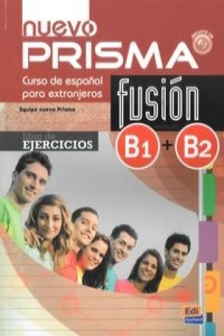 Nuevo Prisma fusion B1+B2 Libro de ejercicios + CD
