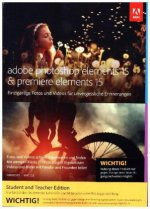 Adobe Photoshop & Premiere Elements 15, Student and Teacher Edition, 1 Benutzer, DVD-ROM