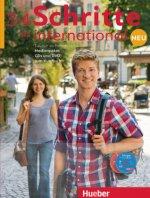 Schritte international Neu 3+4. 6 Audio-CDs und 1 DVD zum Kursbuch