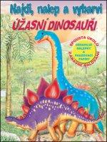 Najdi, nalep - Úžasní dinosauři