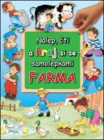 Nalep, čti a hraj si se samolepkami Farma