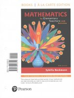 MATHEMATICS FOR ELEM TEACHERS