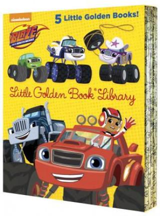 Blaze and the Monster Machines Little Golden Book Library (Blaze and the Monster Machines): Five of Nickeoldeon's Blaze and the Monster Machines Littl