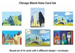 CHICAGO BLANK NOTE CARD SET