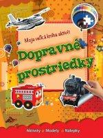 Moja veľká kniha aktivít Dopravné prostriedky