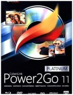Cyberlink Power2Go 11, 1 CD-ROM (Platinum)