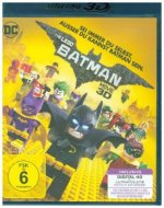 The LEGO Batman Movie 3D, 1 Blu-ray