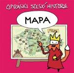 Mapa Opráski sčeskí historje