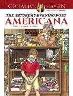 Creative Haven The Saturday Evening Post Americana Coloring Book