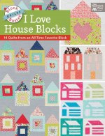 BLOCK-BUSTER QUILTS - I LOVE H