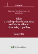 Zákon o tvorbe právnych predpisov a o Zbierke zákonov SR