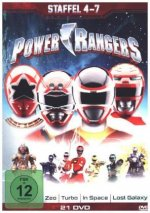 Power Rangers. Staffel.4-7, 21 DVDs