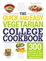 QUICK & EASY VEGETARIAN COL CK