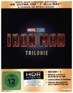 Iron Man Trilogie 4K, 6 UHD-Blu-ray (Limited Edition im Steelbook)