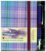 Waverley S.T. (S): Romance Mini with Pen Pocket Genuine Tartan Cloth Commonplace Notebook