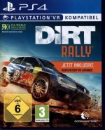 DiRT Rally plus VR Upgrade, 1 PS4-Blu-Ray-Disc