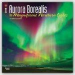 Aurora Borealis: The Magnificent Northern Lights - Nordlicht 2018 - 18-Monatskalender
