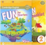 Fun for Starters (Fourth Edition) - Student's Book with Home Fun Booklet and online activities