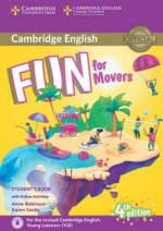 Fun for Movers (Fourth Edition) - Student's Book with Audio-CD and online activities