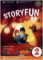 Storyfun for Starters, Movers and Flyers (Second Edition) - Level 2 - Student's Book with online activities and Home Fun Booklet