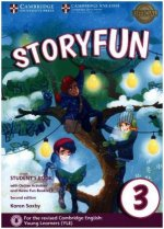Storyfun for Starters, Movers and Flyers (Second Edition) - Level 3 - Student's Book with online activities and Home Fun Booklet