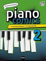 piano comics 2, inkl. Audio-CD