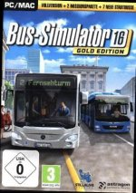 Bus-Simulator 16, 1 DVD-ROM (Gold Edition)