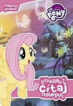My Little Pony Vyfarbuj, čítaj, nalepuj