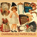 Charming Old Paper Dolls 2018
