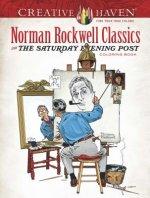Creative Haven Norman Rockwell's Saturday Evening Post Classics Coloring Book
