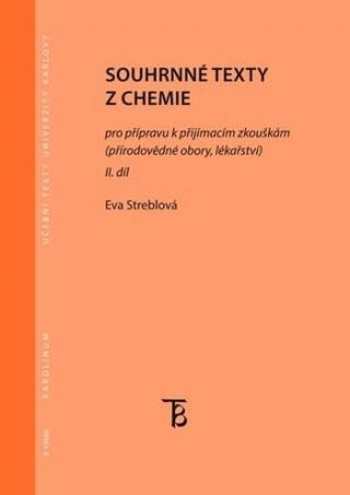 Souhrnné texty z chemie - II. díl