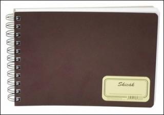 Skicák RETRO A5, čistý, 50 listů