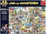 Jan van Haasteren - Die Urlaubsmesse - 1000 Teile Puzzle