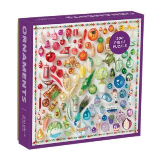 Rainbow Ornaments 500-Piece Puzzle