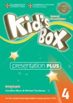 Kid's Box Level 4 Presentation Plus DVD-ROM British English