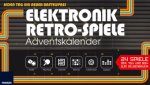 Elektronik Retro Spiele Adventskalender 2017