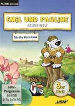 Emil und Pauline - Lernspiele für die Vorschule, 1 DVD-ROM