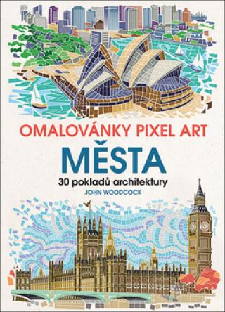 Omalovánky Pixel Art Města